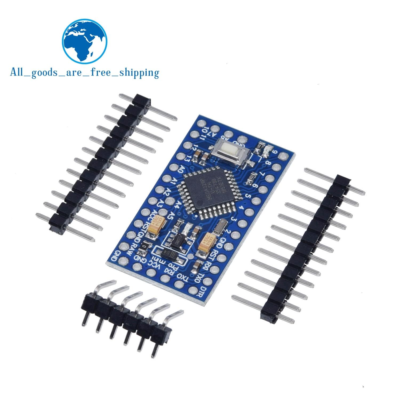 1 шт. Pro mini Atmega328P Pro Mini 328 Mini ATMEGA328 3,3 В 8 МГц 5 в 16 МГц для Arduino совместимый Nano CP2102 FT232RL