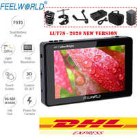 FEELWORLD Monitor LUT7S LUT7 7 Inch 2200nits 3D LUT Touch Screen DSLR Camera Field Monitor with Waveform VectorScope with gifts