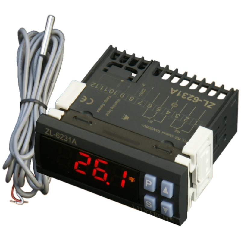 LILYTECH ZL-6231A, Incubator Controller, Thermostat with Multifunctional Timer