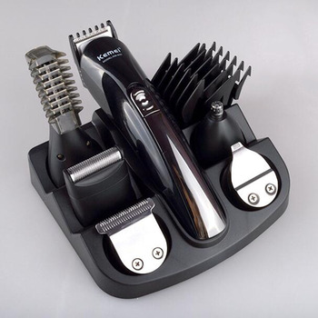 Kemei 11 in 1 Men's Multifunction Electric Hair Clipper Professional Rechargeable Trimmer Hair Cutting Grooming for Men Adult