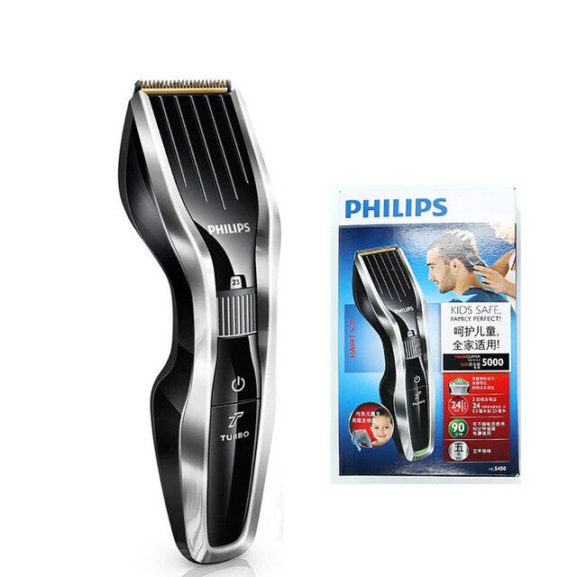 Philips HC5450 Haar Clipper Elektrische Rasierer Maschine mit Cutter Kopf Waschbar Wiederaufladbare Rasiermesser für Kinder & Erwachsene Abnehmbare Elektrische Rasierapparate    -