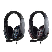цена на Gaming Headset Stereo Surround Headphone 3.5mm Wired Mic For PS4 Laptop For Xbox one Gamer Headphone
