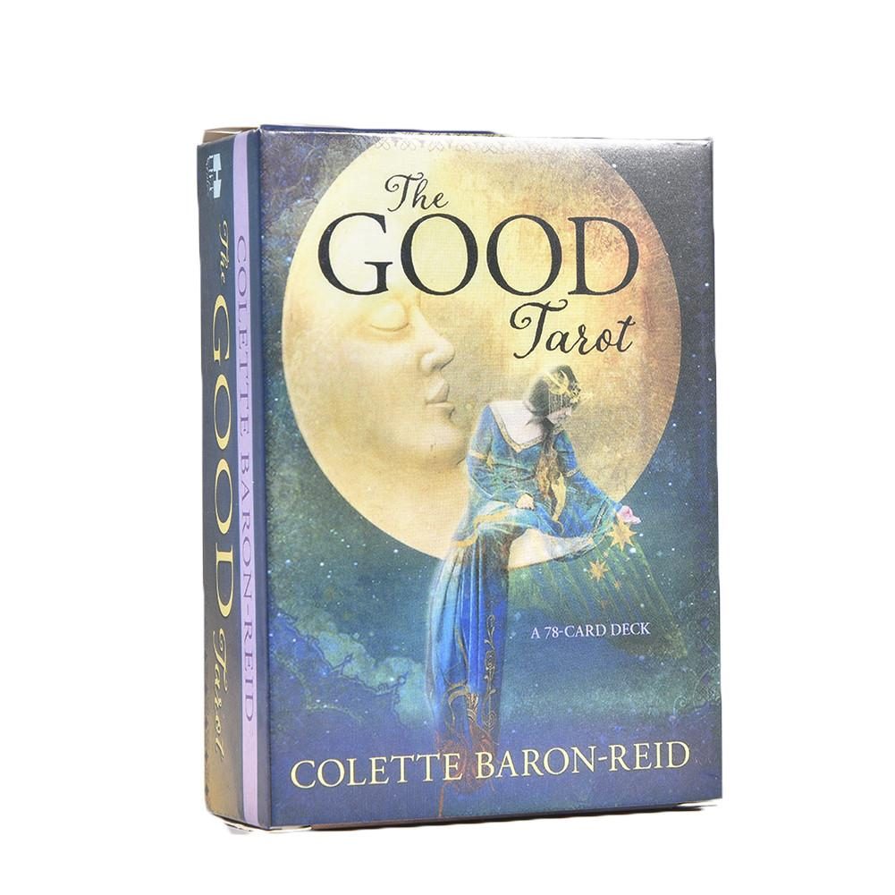 78Pcs/set English The Good Tarot Cards Colette Baron-Reid Acient Tarot Deck Cards & Book Board Game Cards