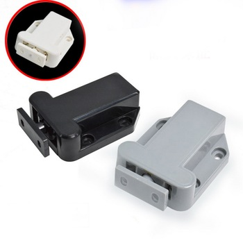 Hot High Quality Cabinet Catches Magnetic Door Drawer Catch Push To Open Beetles Latch Cupboard Closer 1Pcs