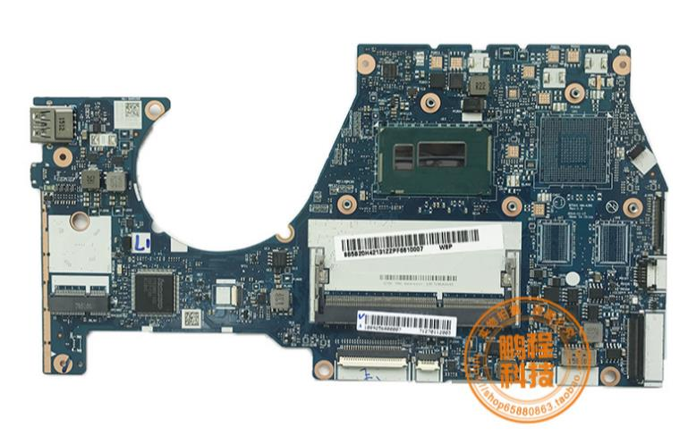 <font><b>NM</b></font>-<font><b>A381</b></font> laptop motherboard for Lenovo YOGA3 14 Laptop Motherboard BTUU1 <font><b>NM</b></font>-<font><b>A381</b></font> REV:1.0 with I3-5005U original mainboard image
