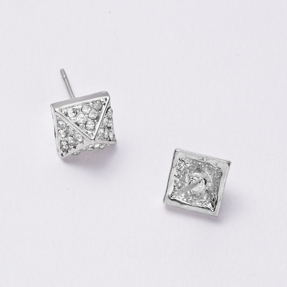 12 Pairs/set Stud Earrings Set With Card Transparent Zircon Balls Love Flowers Earrings Women Imulated Pearl Earrings Jewelry 112