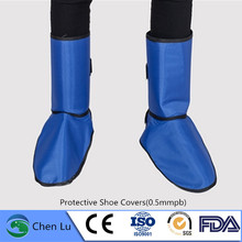 Genuine gamma ray and x-ray radiation protective lead shoe covers radiological protection 0.5mmpb lead shoe covers