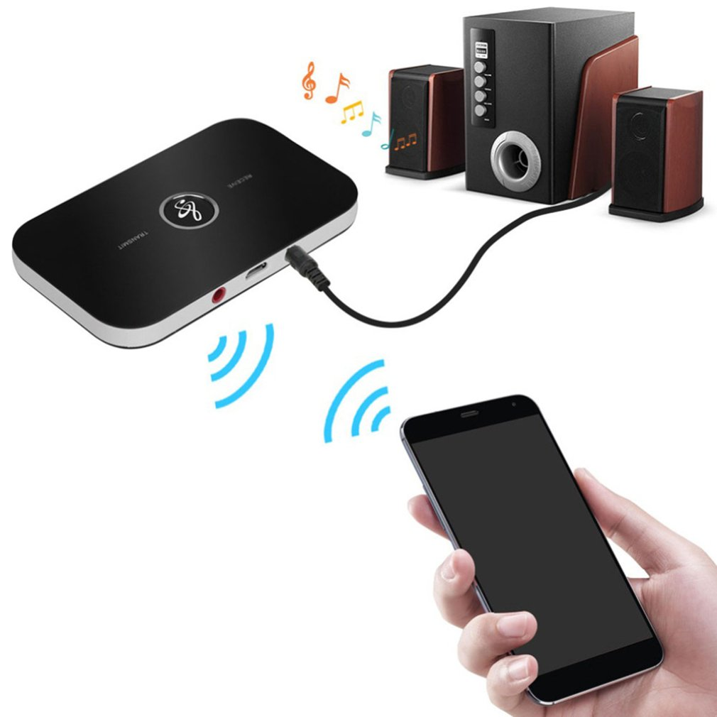 Bluetooth 5.0 Audio Transmitter Receiver 2 In 1 3.5mm Jack RCA Stereo Music Wireless Adapter For Car Headphone Speaker TV PC