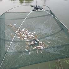 Складывающаяся рыболовная сеть маленькая рыба креветки гольян