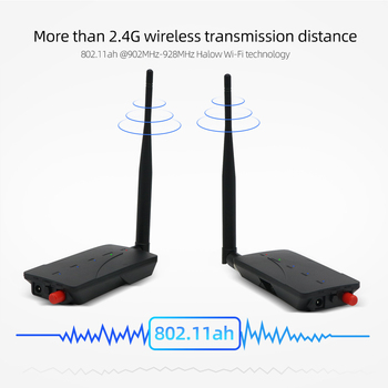 Jeatone New 2.4GHz Mini Wireless Transmitter & Receiver IR Remote Extender 150m Digital STB Sharing Device Transmission
