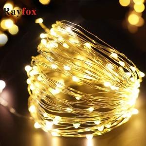 Image 1 - Weihnachten Dekoration Für Home 1 M/2 M/3 M/10 M Licht String Für Weihnachten Girlande weihnachten Baum Dekoration Weihnachten Decor 2020 Neue Jahr