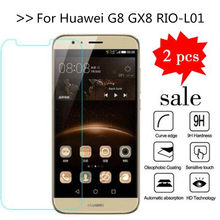 2PCS Voor Huawei G8/GX8/G7Plus D199 Screen Protector Gehard Glas Voor Huawei G8 GX8 RIO-L01 RIO-L02 RIO-L03 Beschermende Film(China)