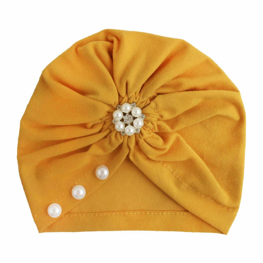 Recién Nacido bebé niña bebé sombrero de sol sólido Bowknot Cap niño turbante recién nacido accesorios de fotografía шпccczapki Dla Dzieci