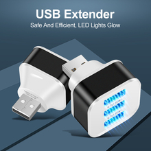 USB2.0 HUB 3 Ports USB Splitter Mobile Phone Chargers Wall Adapter USB PD Charging Adapter for MacBook Air Laptop
