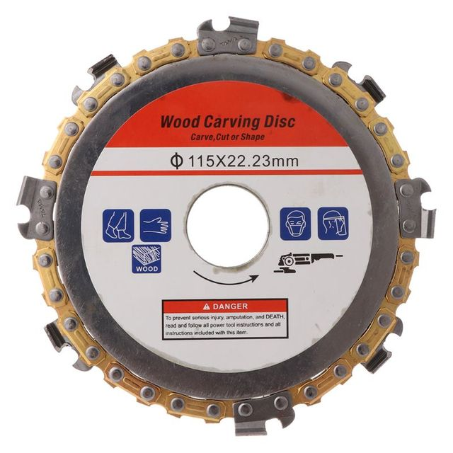115mm 22mm Durchmesser 9 Zahn Kettensäge Disc für Winkel Mühlen Kreissäge Klinge Holzbearbeitung Schneiden Holz Schlitz Schneiden stück