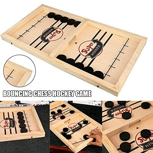 Table Desktop Battle 2 In 1 Ice Hockey Game Funny Classic Battle Board Games For Ages 7 And Up Adults Or Kids Sports Board Game