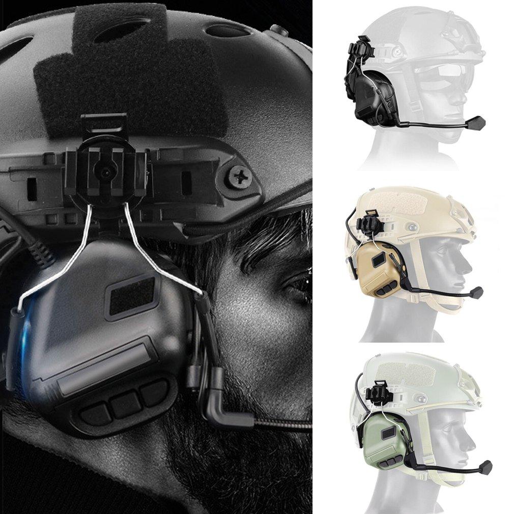 fone de ouvido tatico capacete tipo jogo fone 04