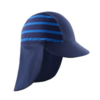 Letnia dziewczynka chłopcy anty UV ochrona przed słońcem pływanie słońce kapelusz dzieci plaża szybkie suszenie czapki plażowe tanie i dobre opinie Wishere CN (pochodzenie) Ochrona uszu pływanie cap NYLON