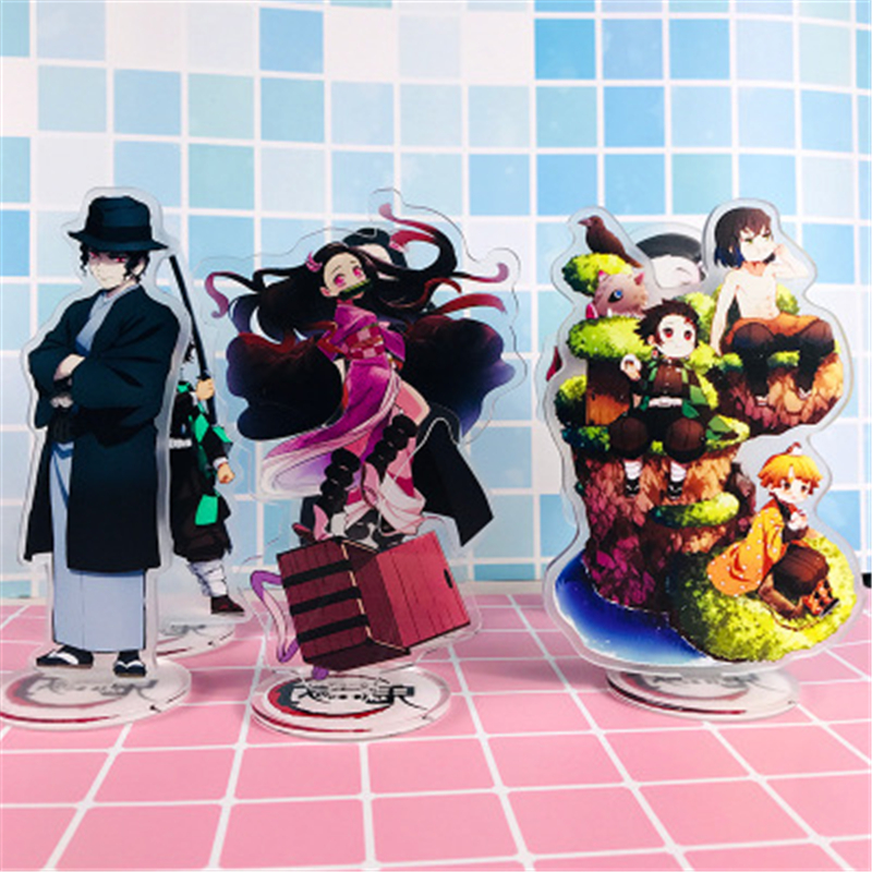 Anime Demon Slayer: Kimetsu No Yaiba Accessories Cosplay Kamado Tanjirou Nezuko Zenitsu Giyuu Props Licensing Decoration