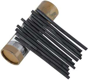 Sketch-Pencils Charcoal-Sticks Willow for Drawing-Pack of 25/5-7/7-9mm-Dia