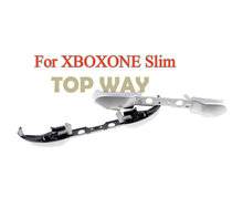 2 adet yedek Xbox one Slim krom kaplama tampon LB RB tetik düğmesi için Microsoft Xbox One S denetleyici