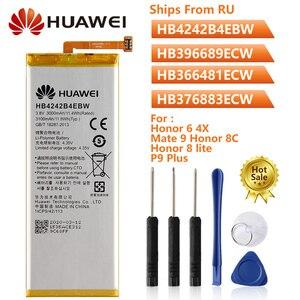 Image 1 - โทรศัพท์เดิมแบตเตอรี่HB4242B4EBWสำหรับHuawei Honor 6 4X Mate 9 Honor 8C Honor 8 Lite P9 Plus Nova 3E p10Lite G9 Honor V9 5C 7C