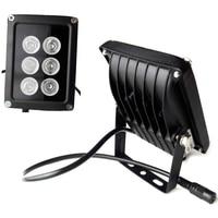 VERYSMART 6 LED Night Vision Infrared IR Light illuminator Lamp Waterproof Housing For CCTV Security Camera System 850nm