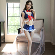 Sexy Lingerie Cute Student Wear Passion Uniform Seduction Sexy Three-Point Sexy Suit New Beautiful girl costume