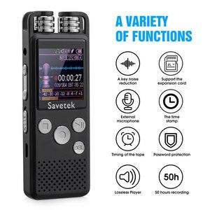 Image 2 - Professionale Voice Activated Digital Audio Voice Recorder 8GB 16GB 32G USB Pen Registrazione Non Stop 50hr PCM Microfono Esterno