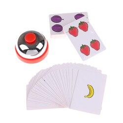 1 conjunto nova venda halli galli jogo de tabuleiro 2-6 jogadores jogo de cartas para festa fácil de jogar com amigos da família atacado