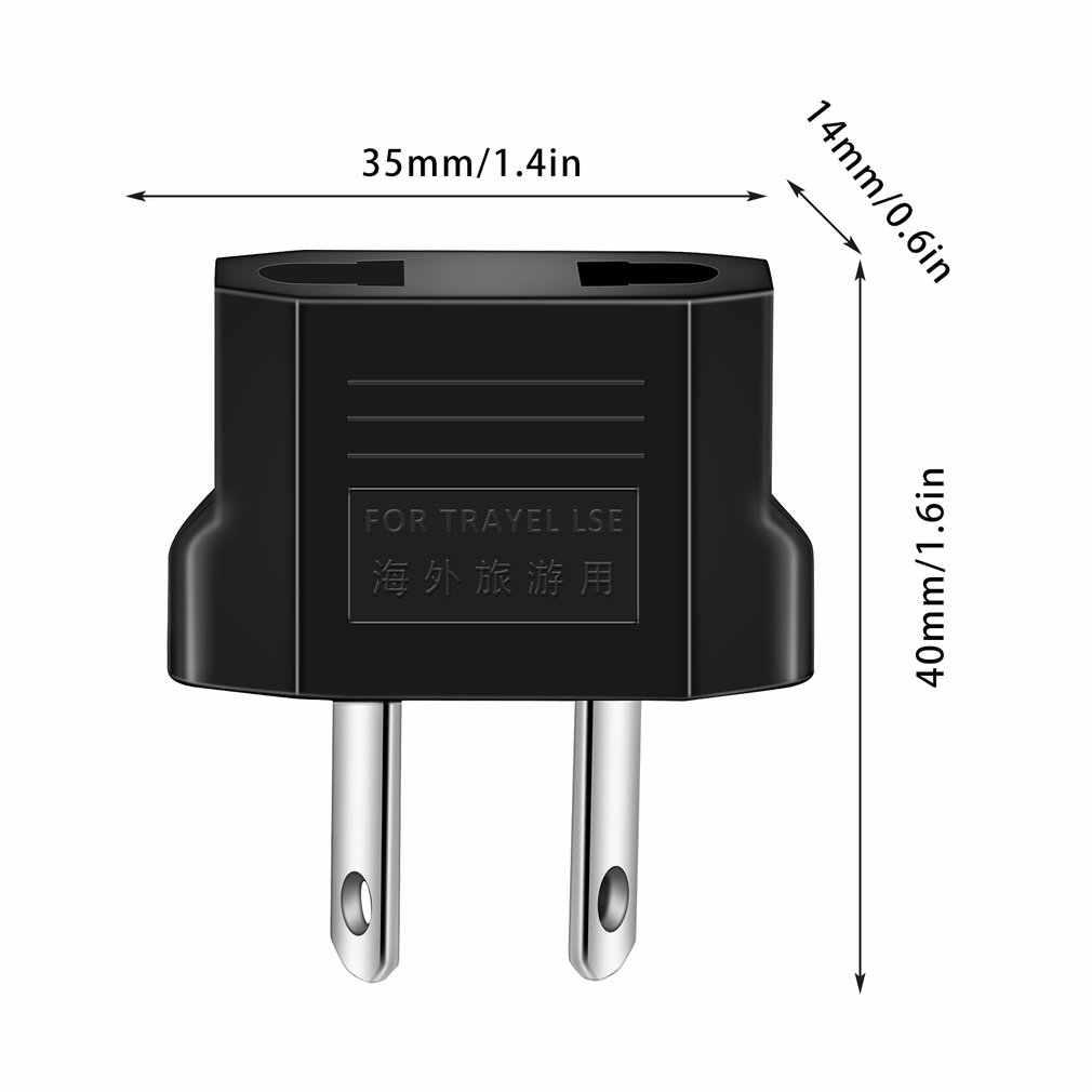 1pc Universal Travel UNS oder EU zu AU AV Stecker Adapter Konverter USA zu Euro Europa Wand Power Ladung outlet Steckdosen In lager!