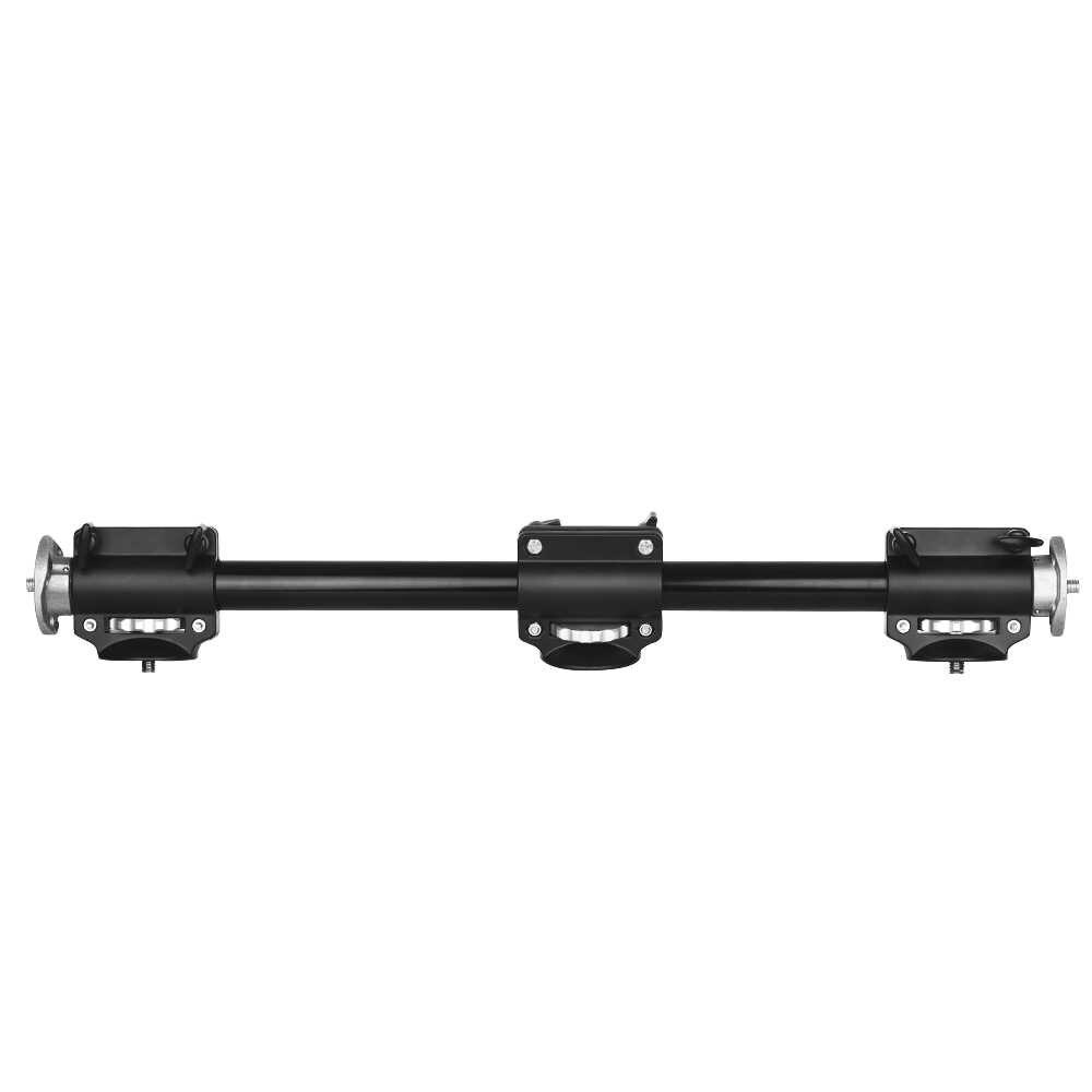 Câmera Tripé de Alumínio ajustável Lança Horizontal Montar Extensão Do Braço para a Sobrecarga de Fotografia Do Produto para Ballhead Câmeras