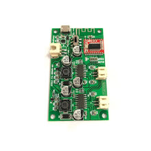 12W Stereo Bluetooth Amplifier Board Module Lithium Battery Powered AMP 2X6W DC5V For Small Bluetooth Speakers(China)