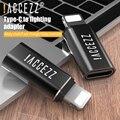 ! ACCEZZ Mini USB OTG Adapter Typ-C Weibliche Zu beleuchtung Männlichen Für Apple Adapter Für iphone X XS XR 8 7 Plus Sync Ladegerät Konverter