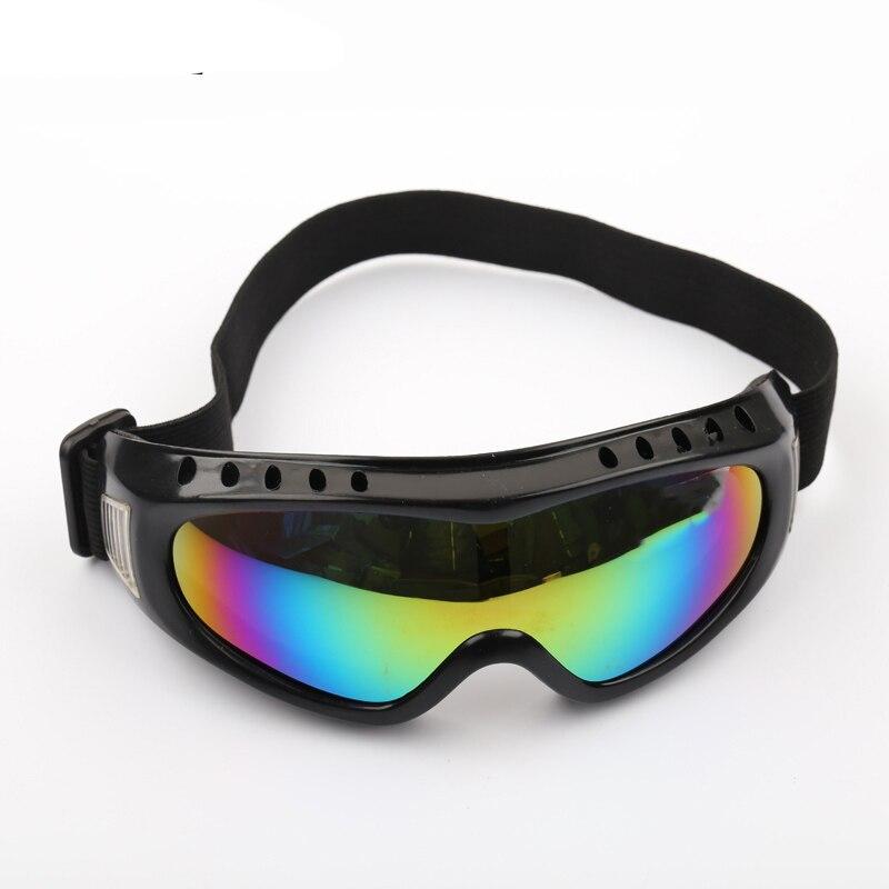 Уличные ветрозащитные очки UV400, лыжные очки, пылезащитные очки для снега, мужские очки для мотокросса, для борьбы с беспорядками, лыжные очки