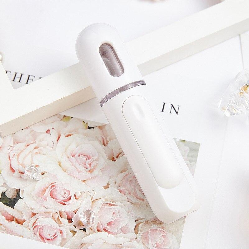 Portable Face Sprayer Face Steamer Humidifier Mist Atomization Moisturizing Sprayer USB Charging Facial Mineral Water Emulsion(China)