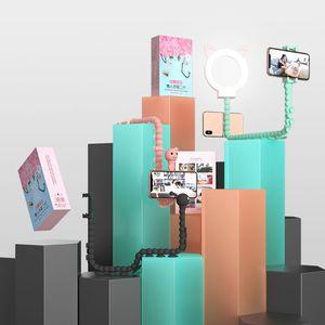 Image 4 - Premio di Qualità di Nuovo Stile 2nd 360 Gradi Staffa di Supporto Del Telefono Mobile Pigro Polpo Treppiede per I Telefoni Cellulari Supporto di Montaggio