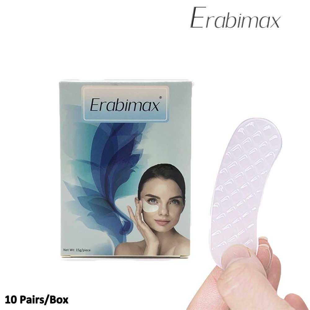 Erabimax Terhidrolisis Kolagen Mata Masker Mata Bantalan Moisturizing Nourish 1 Box = 10 Pasang