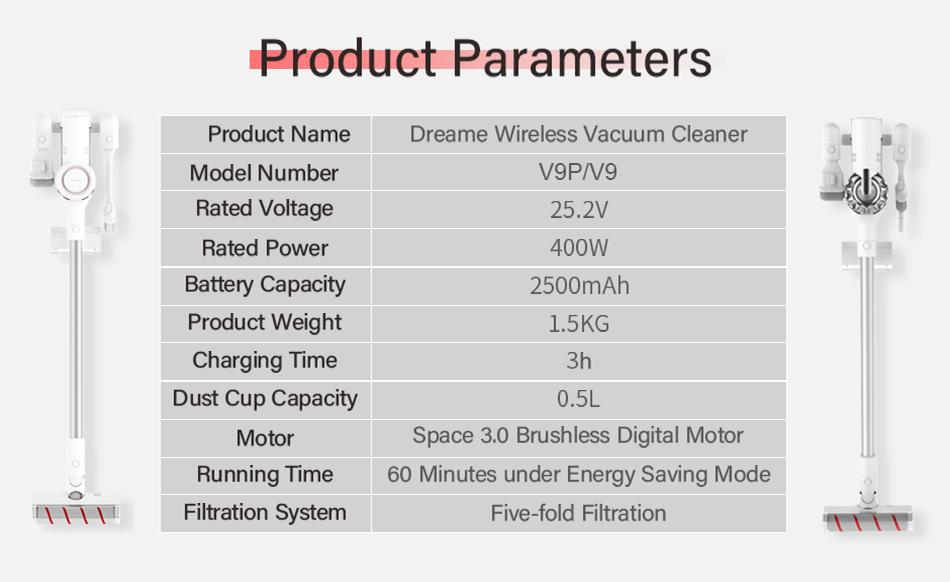Dreame V9P Wireless Vacuum Cleaner