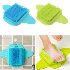 Image 1 - Plastic Bath Shower Foot Brush Scrubber Bath Shoe Feet Massage Slippers Brush Scrub Exfoliating Spa Shower Remove Dead Skin
