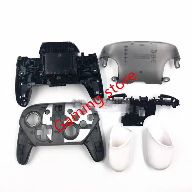 made in chin NS SWITCH PRO game pad controller handle DIY plastic housing shell case replacement with stand