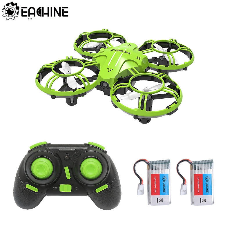Eachine E016H Mini Altitude Hold Headless Mode 8mins Flight Time 2.4G RC Drone quadcopter RTF RC Helicopter For Kids VS S9HW H49(China)