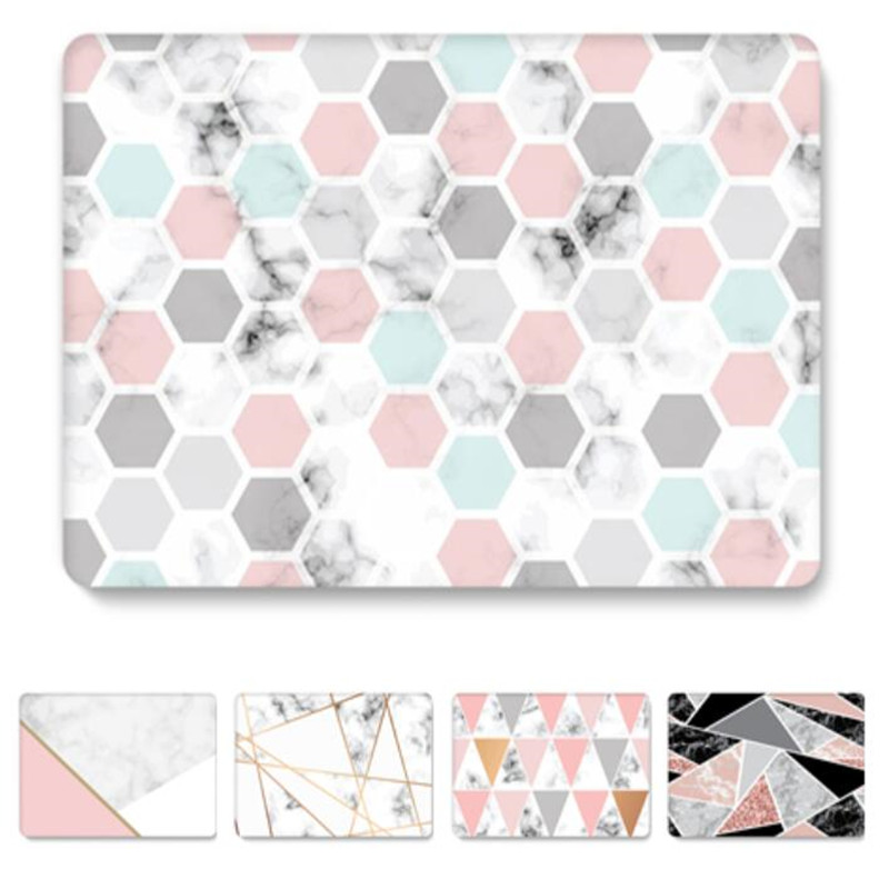 Marble Case For MacBook Air 13 Inch A1466 A1369 Plastic Hard Laptop Clear Cover For Apple MacBook Air 13'' Funda Coque Pouce