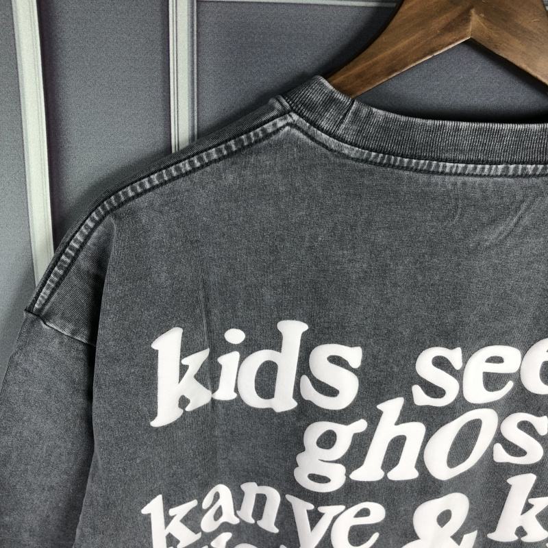 Jesus Is King Kids See Ghosts Tops High Quality T shirt  5
