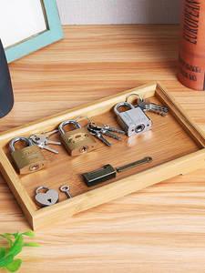Locks-Set Montessori-Tray Educational-Sensory-Toys Sensorial-Materials Wooden Children