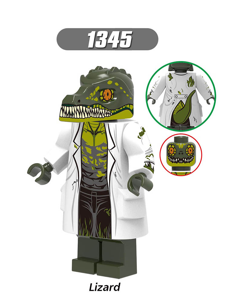Single Sale Compatible LegoINGlys Enlighten Far From Home Spider-Man 2 Lizard FireElemental Michelle Jones Figures Toy X0268