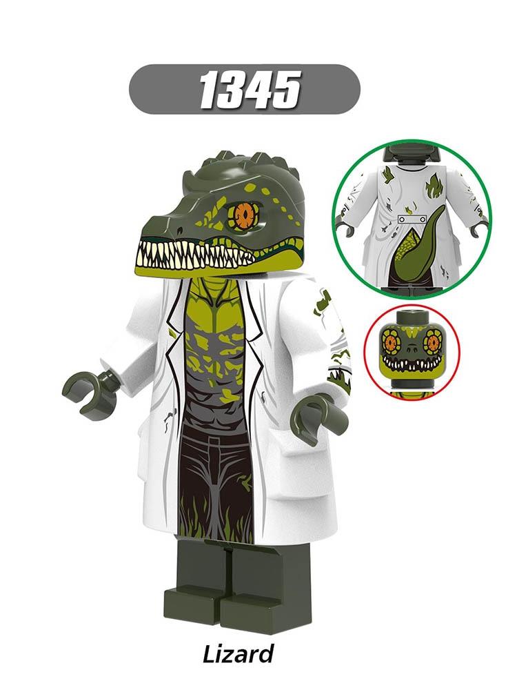 Single Sale Compatible LegoINGlys Super Heroes Far From Home Spider-Man 2 Lizard FireElemental Michelle Jones Figures Toy X0268