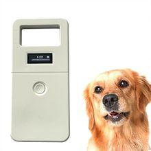 FDX-B Animal pet id reader chip transponder USB RFID handheld microchip scanner for dog cats horse
