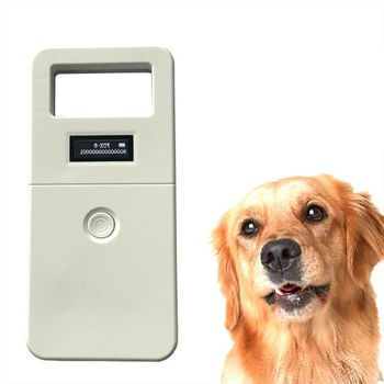 цены FDX-B Animal pet id reader chip transponder USB RFID handheld microchip scanner for dog cats horse