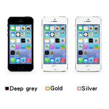 Factory Unlocked Original For Apple iPhone 5S 16GB/32GB/64GB ROM 4.0 inch 8MP Fingerprint IOS Touch ID iCloud App Store WIFI 5s